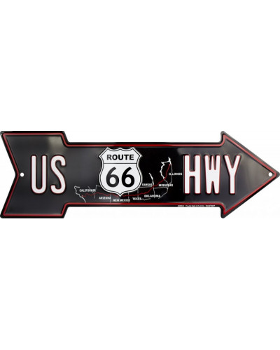 cedule US 66 Highway arrow