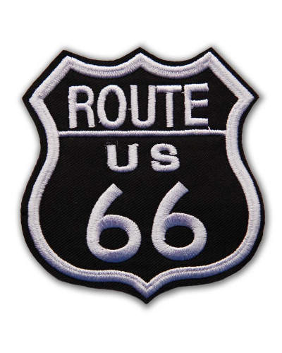 nášivka Route 66 black