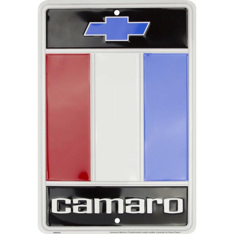 Plechová cedule Chevy Camaro small 20cm x 30cm