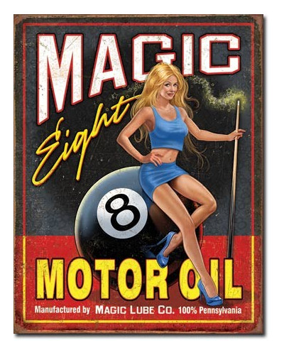 cedule Magic Eight Motor Oil