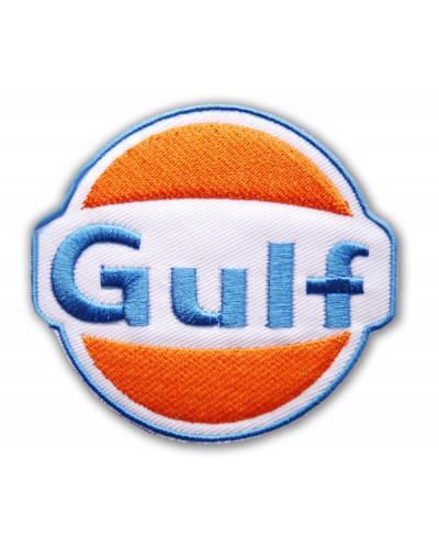 Moto nášivka Gulf 8 cm x 7 cm