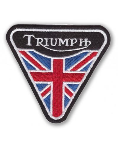 Moto nášivka Triumph triangle 10 cm x 8 cm