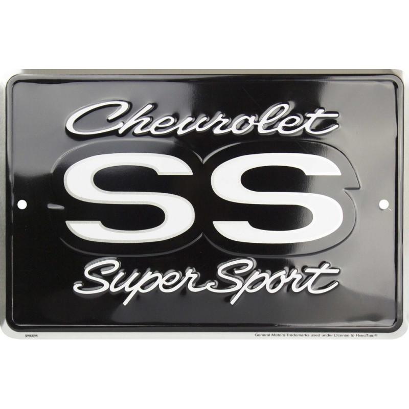 Plechová cedule Chevrolet Camaro SS, 20cm x 30cm