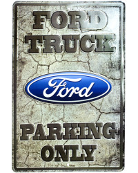 Plechová cedule Ford Truck NEW 30 cm x 45 cm