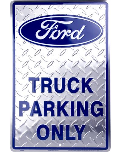 Plechová cedule Ford Truck Parking 30cm x 45 cm