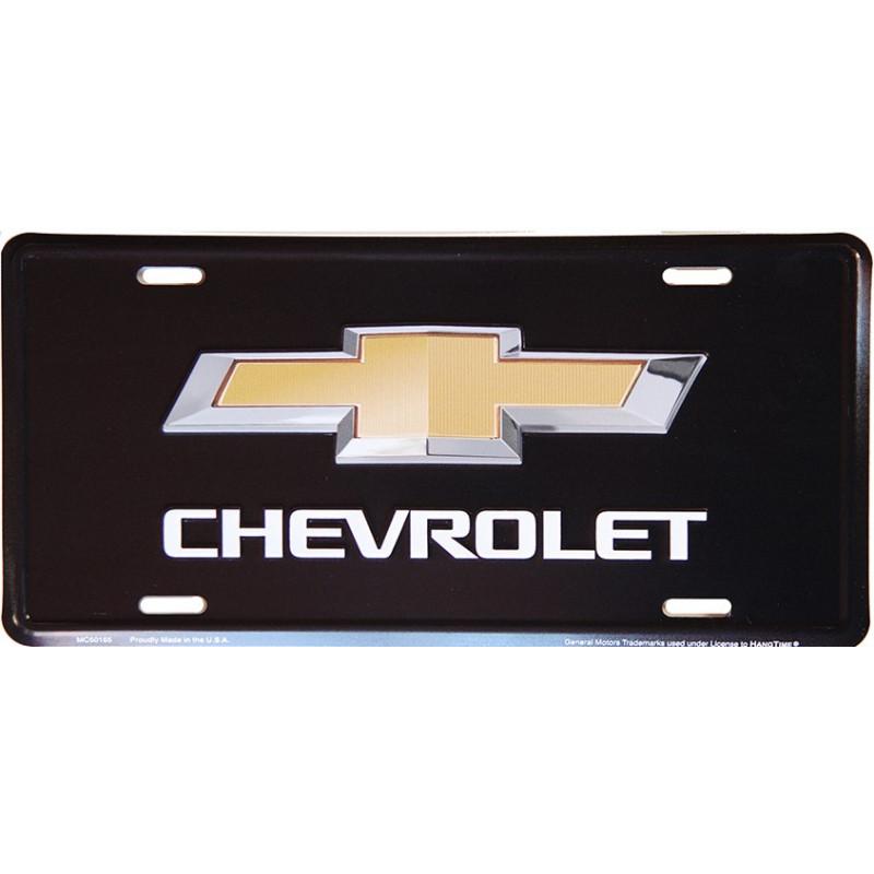 Americká SPZ Chevrolet Bow Tie black