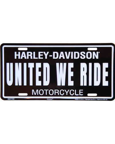 Americká SPZ Harley Davidson United we ride