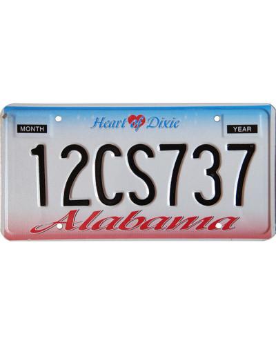 Americká SPZ Alabama Heart...