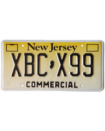 Americká SPZ New-Jersey-Commercial