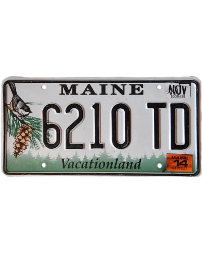 Americká SPZ Maine Chickadee