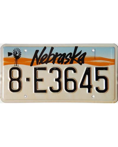 Americká SPZ Nebraska Windmill