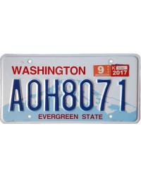 Americká SPZ Washington Evergreen State