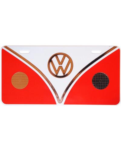 Volkswagen Bus plate