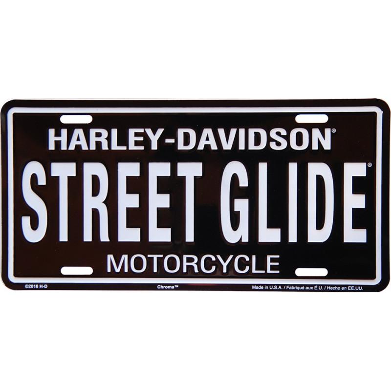 Americká SPZ Harley Davidson Street Glide