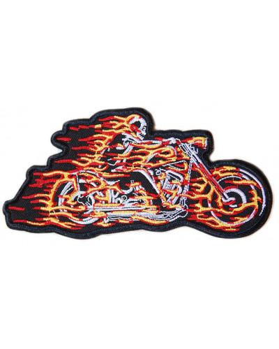 Moto nášivka Hell Rider 14 cm x 7 cm