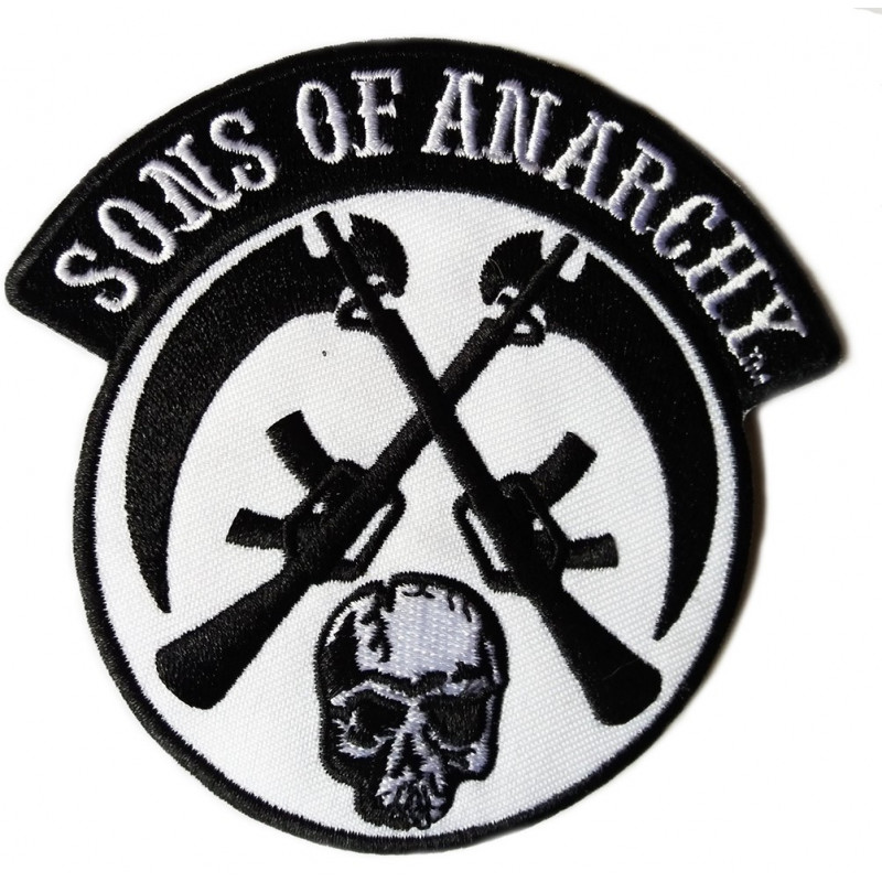 Moto nášivka Sons of Anarchy 9 cm x 9 cm