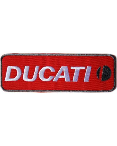 Moto nášivka Ducati červená