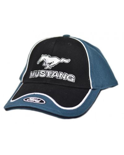 Kšiltovka Ford Mustang modrá