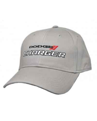 Kšiltovka Dodge Charger šedá