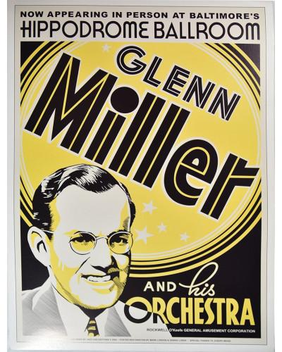 Koncertní plakát Glenn Miller 1939