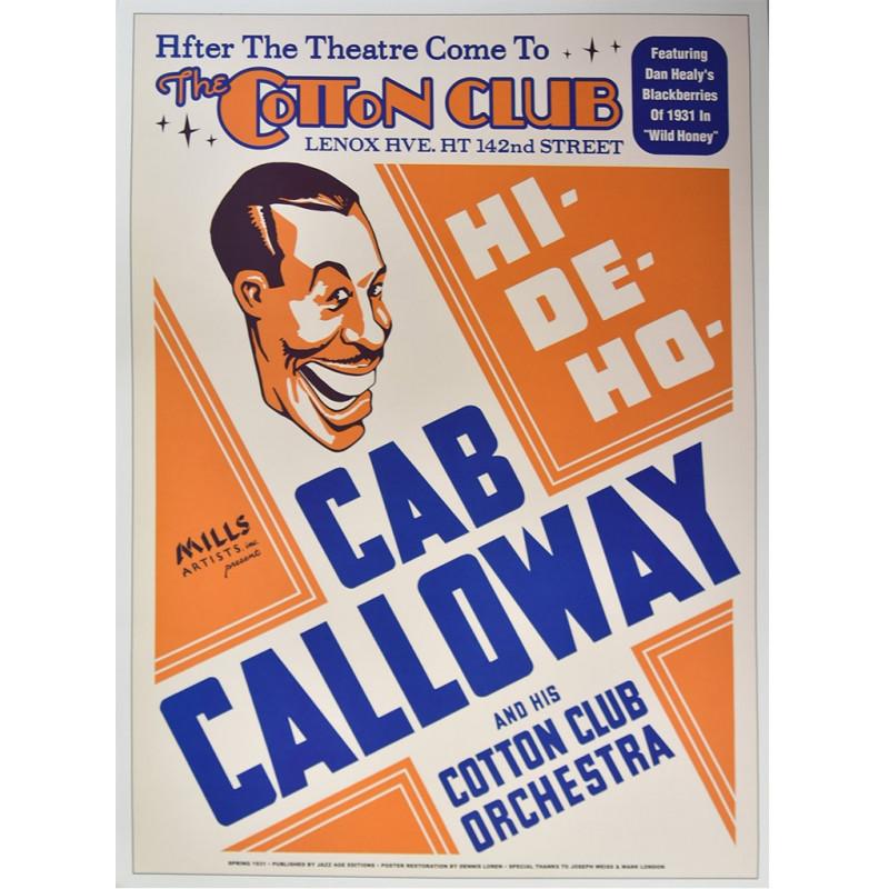 Koncertní plakát Cab Calloway, NYC, 1931