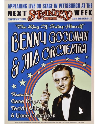 Koncertní plakát Benny Goodman, Pittsburgh 1936