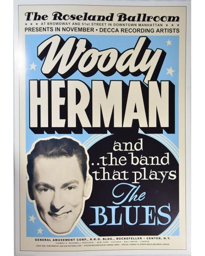 Koncertní plakát Woody Herman, 1936