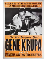 Koncertní plakát Gene Krupa, 1941
