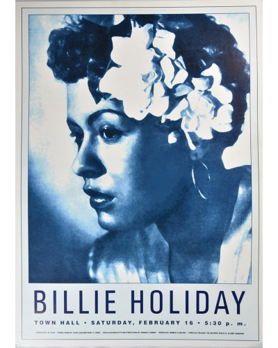Koncertní plakát Billie Holiday, 1946