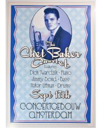 Koncertní plakát Chet Baker, 1955