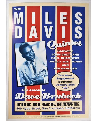 Koncertní plakát Miles...