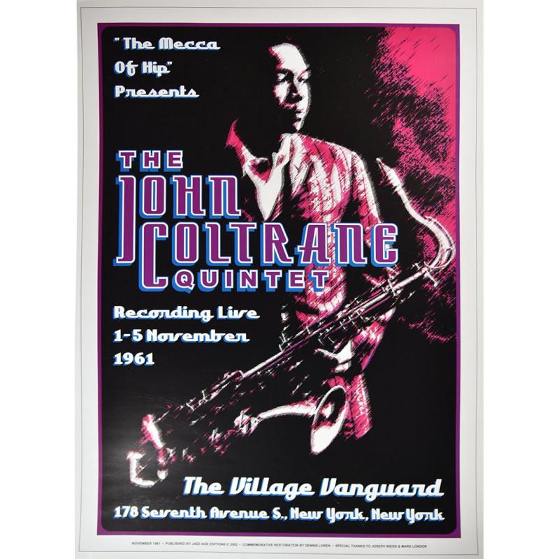 Koncertní plakát John Coltrain, 1961