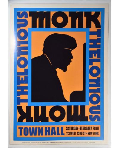Koncertní plakát Thelonious Monk, New York 1959