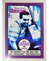 Koncertní plakát Charles Mingus, 1964