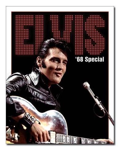 Plechová cedule Elvis - 1968 Special 32cm x 40cm