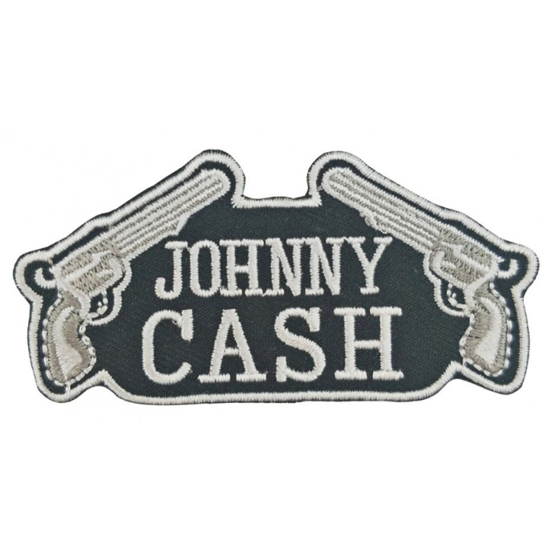 Moto nášivka Johnny Cash revolvers