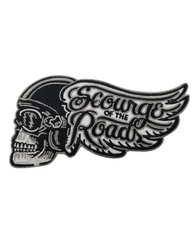 Moto nášivka Scourge of the Roads