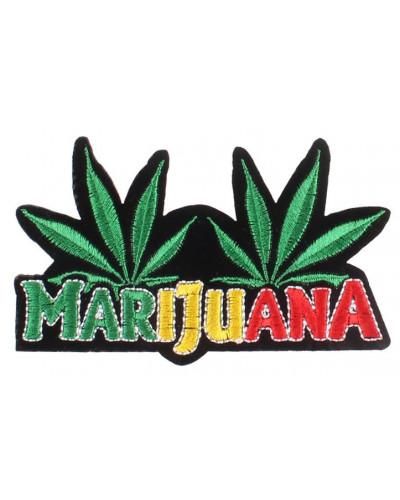 Nášivka Marijuana 11 cm x 6 cm