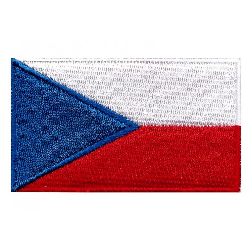 Nášivka Česká vlajka 6 cm x 3,5 cm