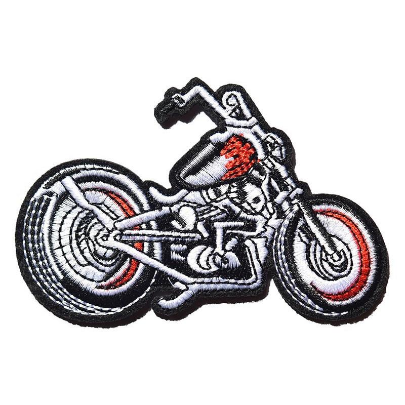 Moto nášivka Rockabilly motorcycle 10 cm x 7 cm
