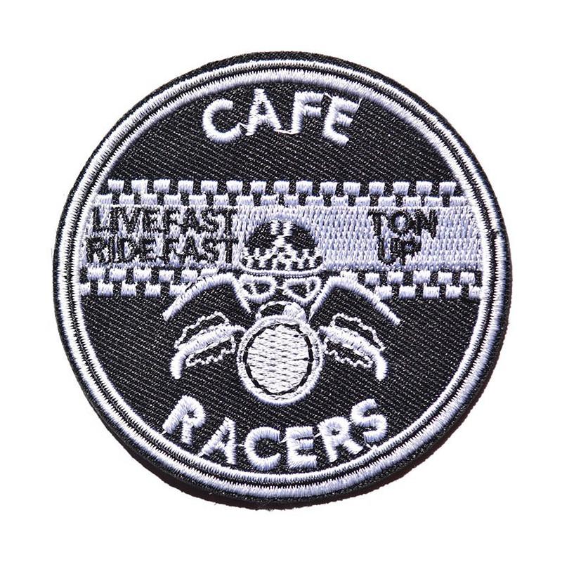 Moto nášivka Cafe Racer Ton Up 7 cm