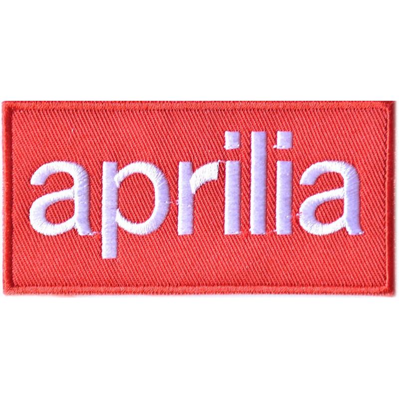 Moto nášivka Aprilia 10 cm x 5 cm
