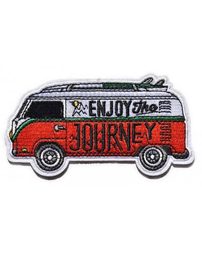 nášivka VW Bus Enjoy the Journey 10 cm x 6 cm