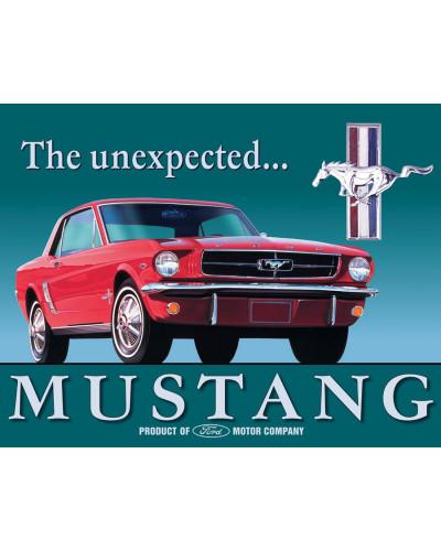 Plechová cedule Ford Mustang 32 cm x 40 cm
