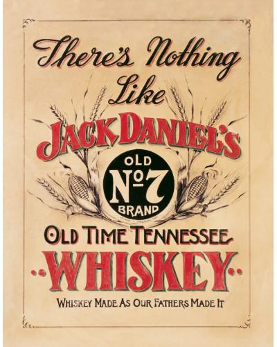 Plechová cedule Jack Daniels - Nothing Like