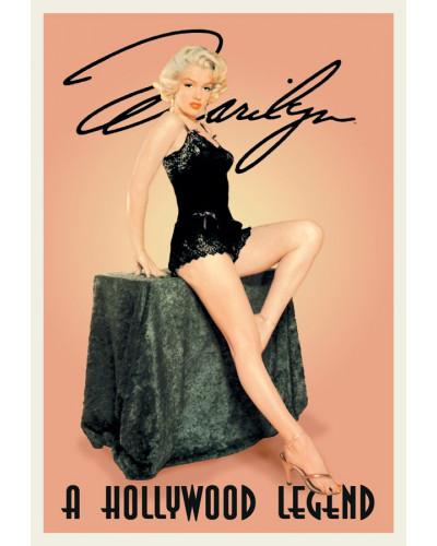 Plechová cedule Monroe Marilyn Hollywood Legend 40 cm x 32 cm