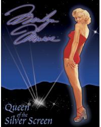Plechová cedule Marilyn - Queen of Screen 32cm x 40 cm
