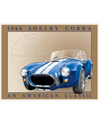 Plechová cedule Shelby Cobra 32 cm x 40 cm