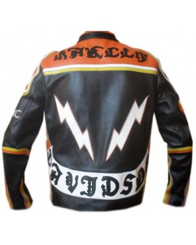 Kožená bunda z filmu Harley Davidson and Marlboro Man záda