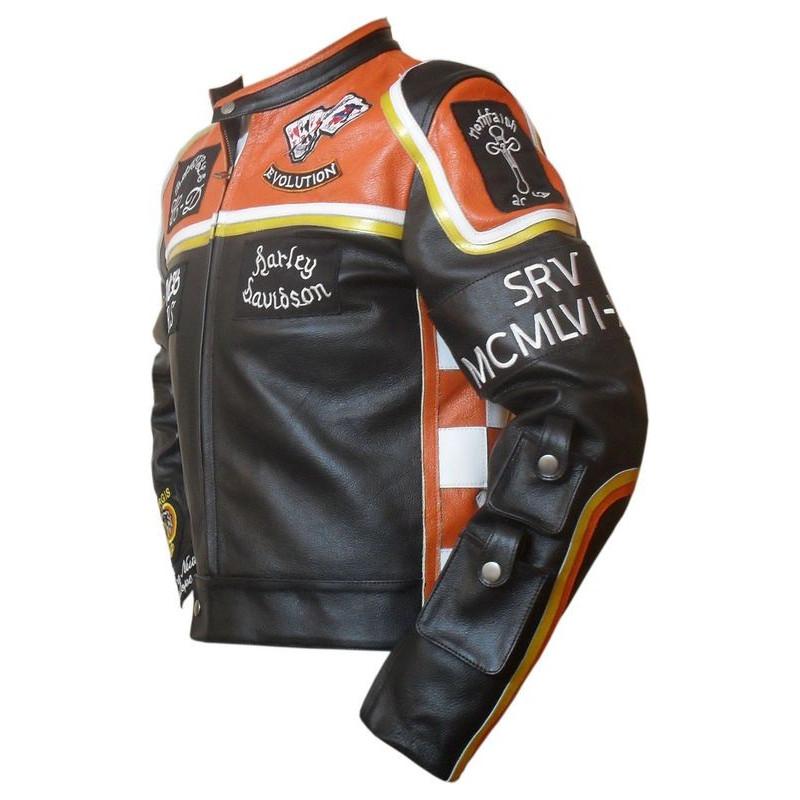 Kožená bunda z filmu Harley Davidson and Marlboro Man bok